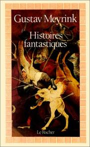 Cover of: Histoires fantastiques