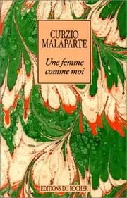 Cover of: Une femme comme moi