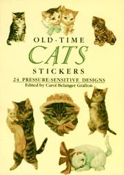 Cover of: Old-Time Cats Stickers