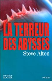 Cover of: La terreur des abysses