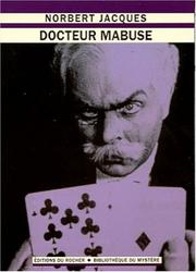 Cover of: Docteur Mabuse