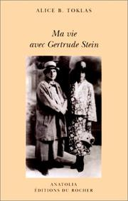Cover of: Ma vie avec Gertrude Stein