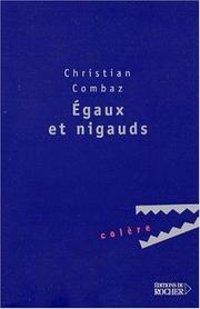 Cover of: Egaux et Nigauds