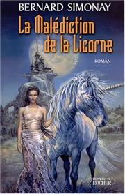Cover of: La Malédiction de la Licorne