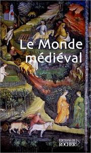 Cover of: Le Monde médiéval