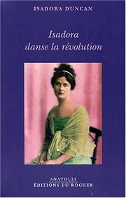 Cover of: Isadora danse la révolution