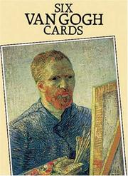 Cover of: Six Van Gogh Cards