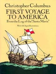 Cover of: First voyage to America | Christopher Columbus