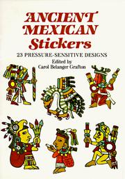 Cover of: Ancient Mexican Stickers