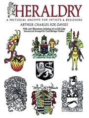 Cover of: Heraldry | Arthur Charles Fox-Davies
