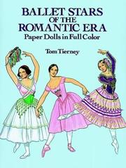 Cover of: Ballet Stars of the Romantic Era Paper Dolls in Full Color