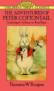 Cover of: The adventures of Peter Cottontail