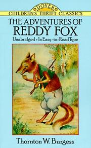 Cover of: The Adventures of Reddy Fox