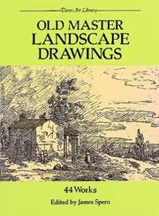 Cover of: Old master landscape drawings |
