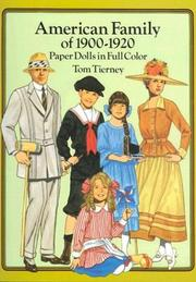 Cover of: American Family of 1900-1920 Paper Dolls in Full Color