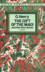 Cover of: The gift of the Magi and other short stories | O. Henry