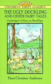 Cover of: The Ugly Duckling and other Fairy Tales | Hans Christian Andersen
