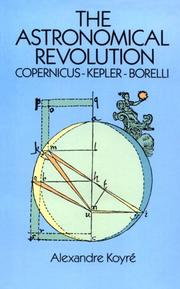 Cover of: Révolution astronomique