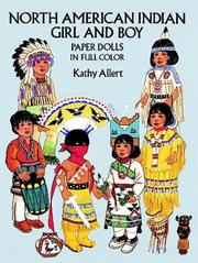 Cover of: North American Indian Girl and Boy Paper Dolls in Full Color