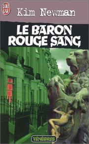 Cover of: Le baron rouge sang