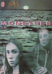 Cover of: Monstres