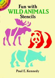 Cover of: Fun with Wild Animals Stencils | Paul E. Kennedy