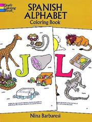 Cover of: Spanish Alphabet Coloring Book