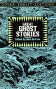 Cover of: Great ghost stories | John Grafton