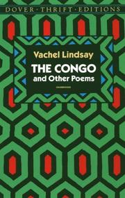 Cover of: The Congo and other poems | Vachel Lindsay
