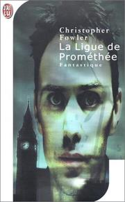 Cover of: La Ligue de Prométhée