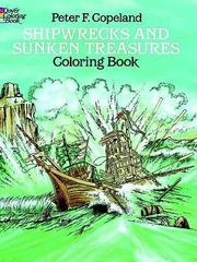 Cover of: Shipwrecks and Sunken Treasures Coloring Book | Peter F. Copeland