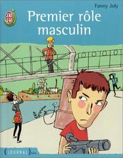 Cover of: Premier role masculin