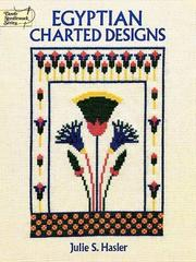 Cover of: Egyptian charted designs