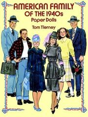 Cover of: American Family of the 1940s Paper Dolls