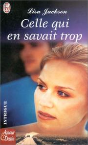Cover of: Celle qui en savait trop