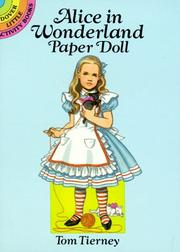 Cover of: Alice in Wonderland Paper Doll