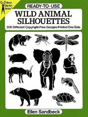 Cover of: Ready-to-Use Wild Animal Silhouettes