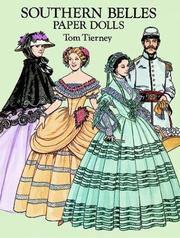 Cover of: Southern Belles Paper Dolls in Full Color