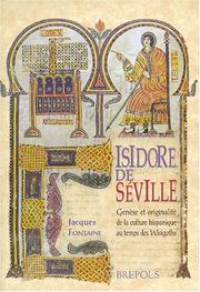 Cover of: Isidore de Séville