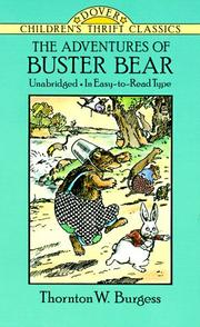 Cover of: The adventures of Buster Bear