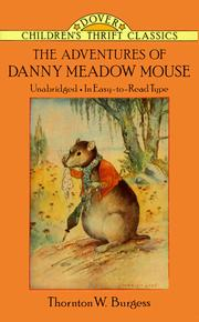 Cover of: The adventures of Danny Meadow Mouse
