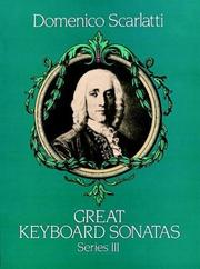 Cover of: Great Keyboard Sonatas, Series III
