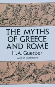 Cover of: The myths of Greece & Rome