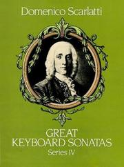 Cover of: Great Keyboard Sonatas, Series IV