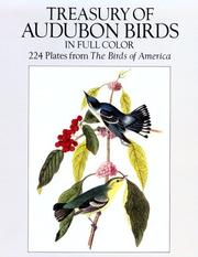 Cover of: Treasury of Audubon birds in full color: 224 plates from The birds of America
