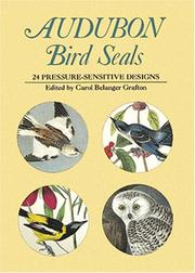 Cover of: Audubon Bird Seals: 24 Pressure-Sensitive Designs (Pocket-Size Sticker Collections)