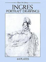 Cover of: Ingres portrait drawings