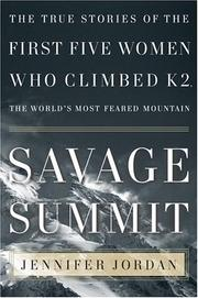 Cover of: Savage Summit