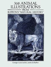 "Cover of: 368 animal illustrations from Buffon's ""Natural history"""