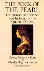 Cover of: The book of the pearl | George F. Kunz